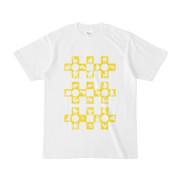 シンプルデザインTシャツ Cr/MONSTER(YELLOW)