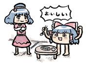 神奈子さんに餃子をご馳走になるゆっくり