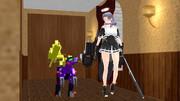 龍田とレブラプター