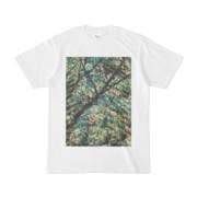 シンプルデザインTシャツ Epic 木×植物