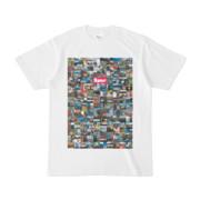 シンプルデザインTシャツ 276-Spur(MAGENTA)