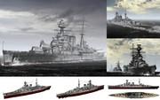 MMD用モブ巡洋戦艦1941(モブッド)セット