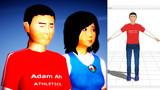 【MMDモデル配布】謎のアジア系米国人 アダム・アー