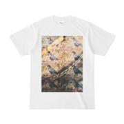 シンプルデザインTシャツ Epic 布烏