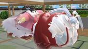 【肥満化】巨漢二人のおしくらまんじゅう.total876kg