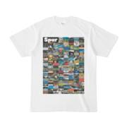 シンプルデザインTシャツ Spur=170(BLACK)