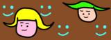 【GIFアニメ】翼少女【双子の日】