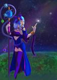 星空と魔法使い