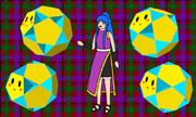 小十二面半十二面体と少女