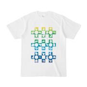 シンプルデザインTシャツ Cr/MONSTER(RAINBOW)
