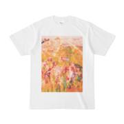 シンプルデザインTシャツ Epic 葉菖蒲レモン