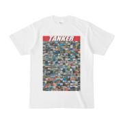 シンプルデザインTシャツ TANKER_300(RED)