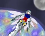 やがて宇宙を包む無限の翅模様