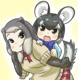 チンチラちゃん&マーモットちゃん
