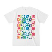 シンプルデザインTシャツ 四八シュプール(RAINBOW)