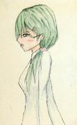 鈴谷さんとお絵描き練習5