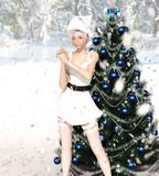 冬姫様は冬でも元気