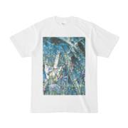 シンプルデザインTシャツ Epic ジャングル菖蒲