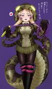 アフリカニシキヘビさん
