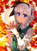 秋の木漏れ日妖夢ちゃん!