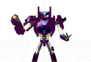 【MMD】シェードロック【トランスフォーマーアドベンチャー】