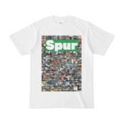 シンプルデザインTシャツ NC4.Spur_232(GREEN)