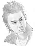 EXILE-TAKAHIRO 氏(画材:鉛筆)