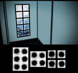 冬の窓フィルター