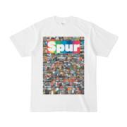 シンプルデザインTシャツ NC3.Spur_232(RAINBOW)