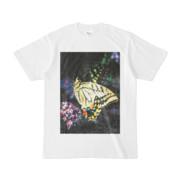 シンプルデザインTシャツ Epic 雨蝶々