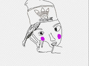 G-FORUMのコテ キャシーを描いてみました
