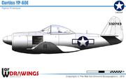 カーチス XP-60 ウォーホーク