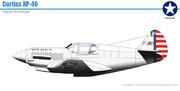 カーチス XP-46 トマホーク