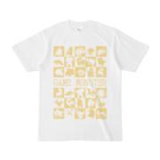 シンプルデザインTシャツ GAME MONSTER(KHAKI)