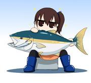 釣れた加賀さん