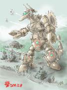 球連邦軍戦闘工兵型MS「ドゥーリ-モウグ」