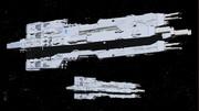 グバラス帝国宇宙軍機動戦艦