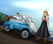 イセッタと旅するマキマキ