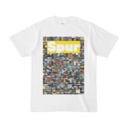 シンプルデザインTシャツ NC4.Spur_232(YELLOW)