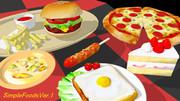 05/10更新【配布】食べ物モデル【MMD】