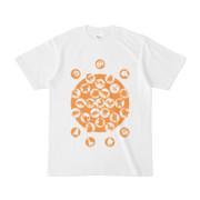 シンプルデザインTシャツ M_Ladybird(ORANGE)