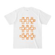 シンプルデザインTシャツ Cr/MONSTER(ORANGE)