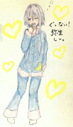 弥生さんとお絵描き練習2