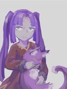 エニラちゃんと猫