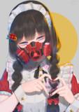 メイドノ美兎(マスクあり)