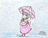 雪の日のお嬢様❄️