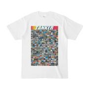 シンプルデザインTシャツ TANKER_300(RAINBOW)