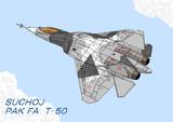 スホーイ PAK FA T-50(修正版)