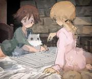 宮藤とリーネ4