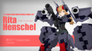 【モデル配布】リタ・ヘンシェル ver.1【MMDアリスギア】